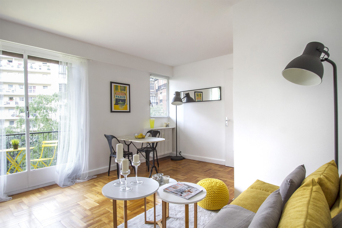 Furnished apartment for rent Paris Boulevard Flandrin