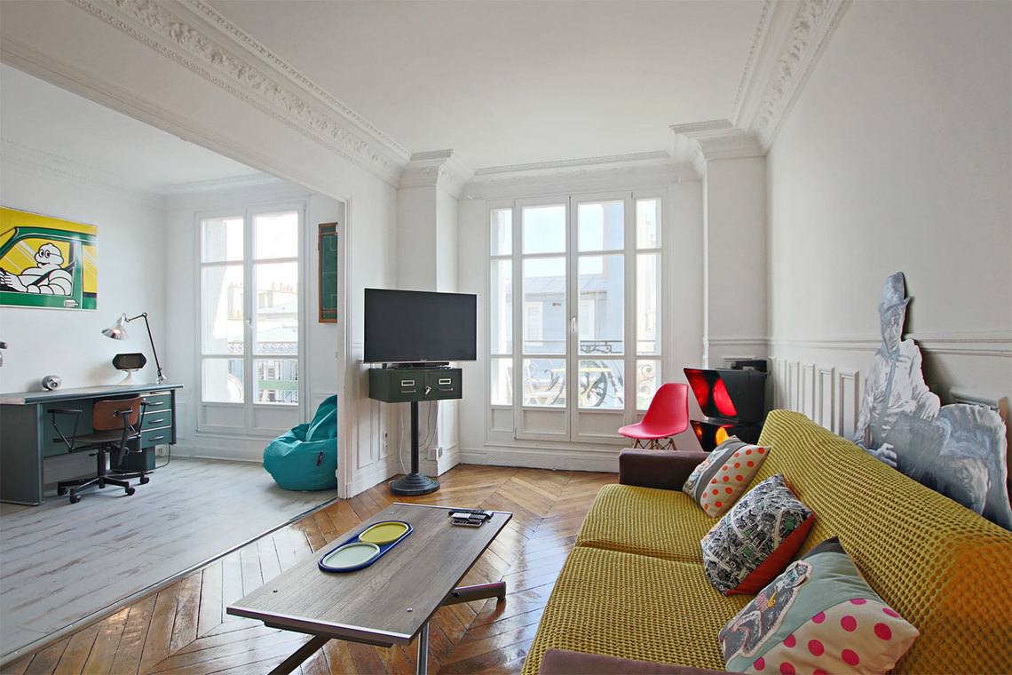 Furnished apartment for rent Paris Rue Chapon