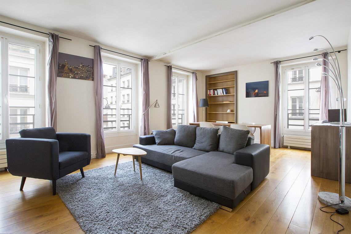 Furnished apartment for rent Paris Rue Cler