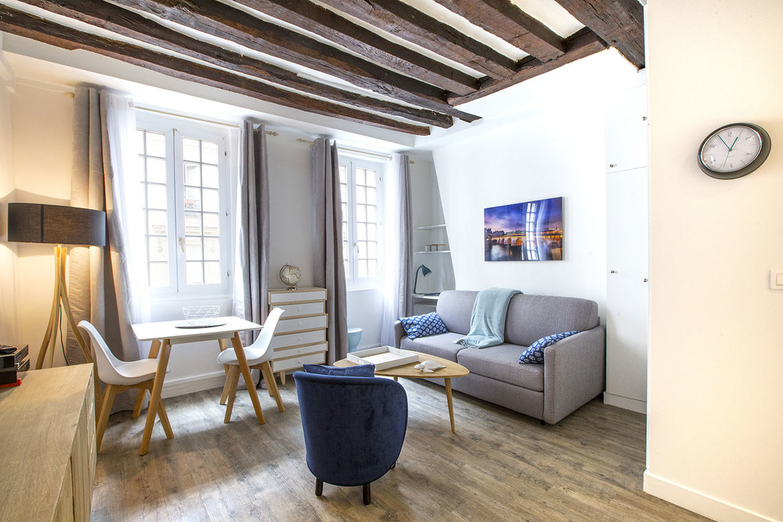Furnished apartment for rent Paris Rue Mazarine