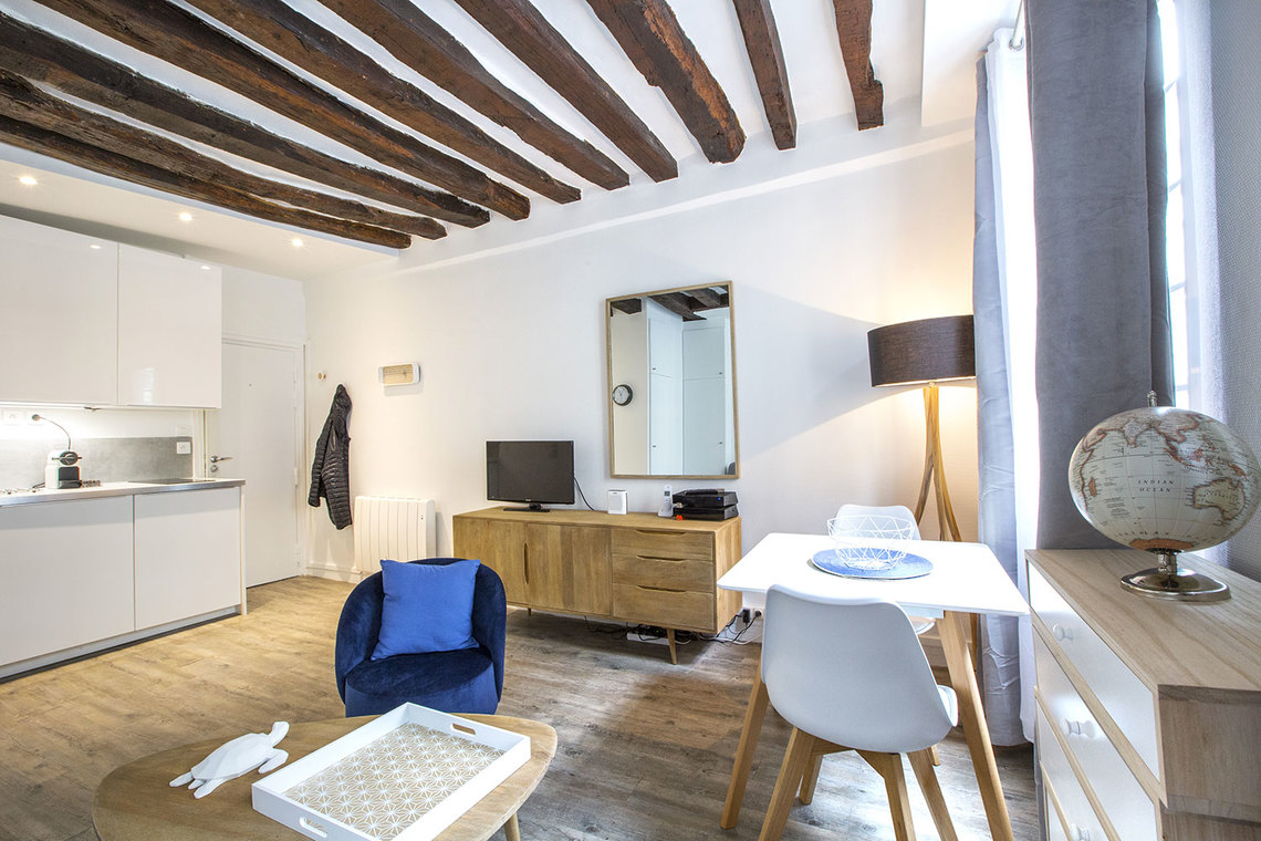 Apartment Paris Rue Mazarine 4
