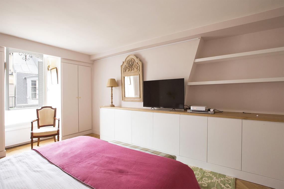 Appartement Paris Rue des Moulins 14
