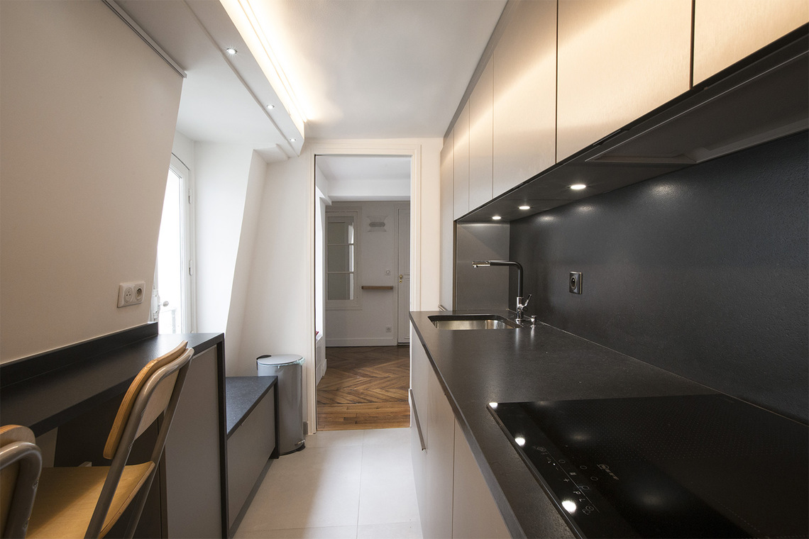 Appartement Paris Rue des Moulins 9