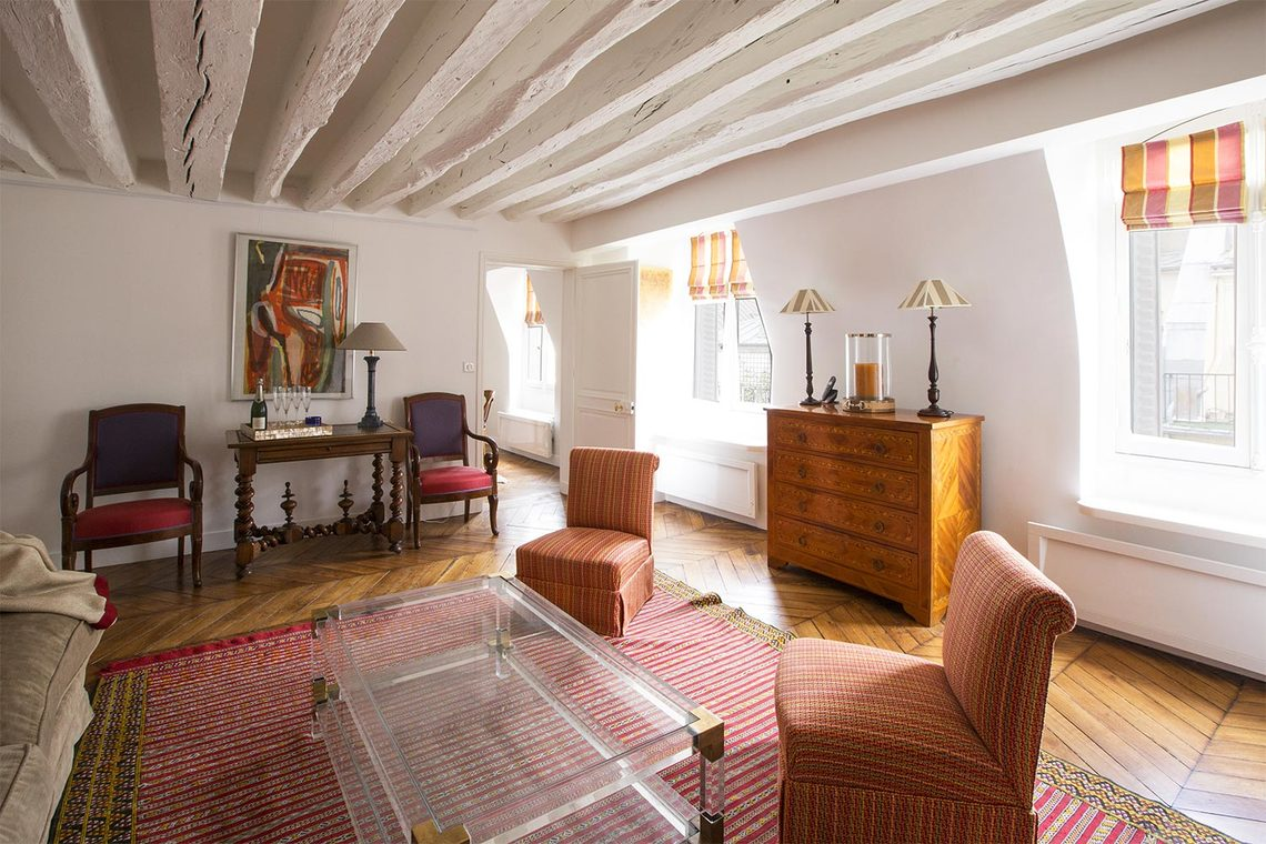 Appartement Paris Rue des Moulins 3