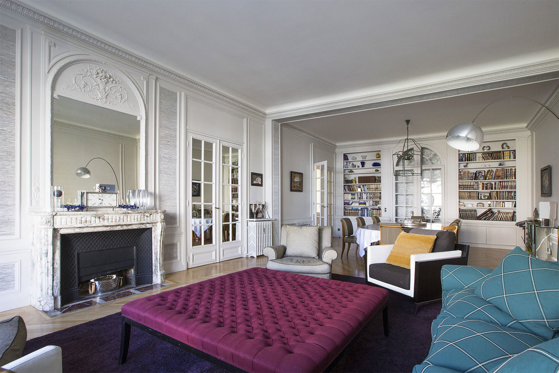 Paris Boulevard Flandrin Apartment for rent