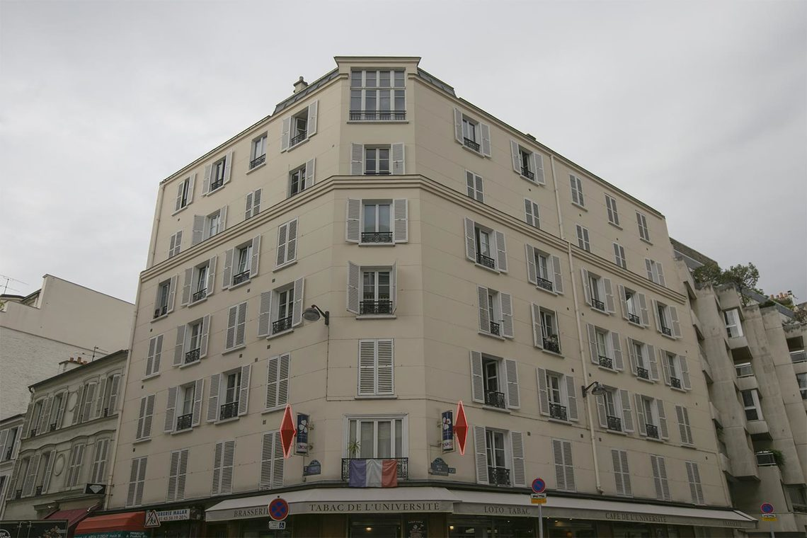 Квартира Paris Rue Malar 18