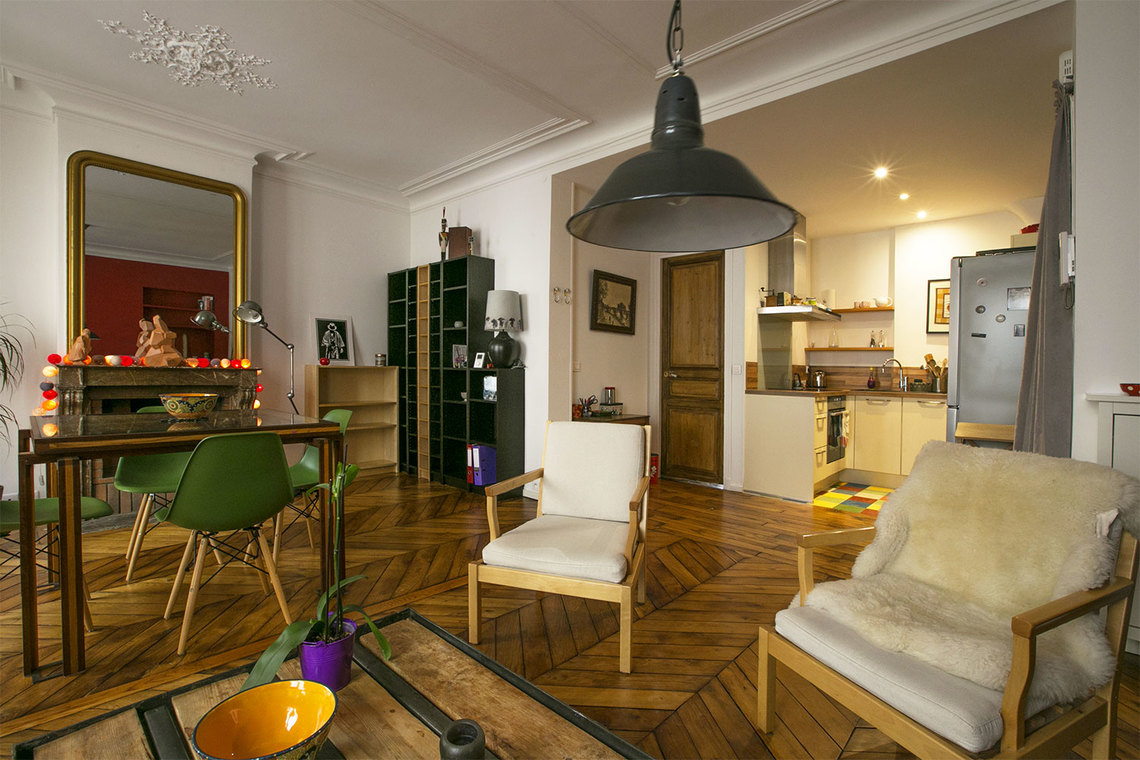 Квартира Paris Rue Rodier 7