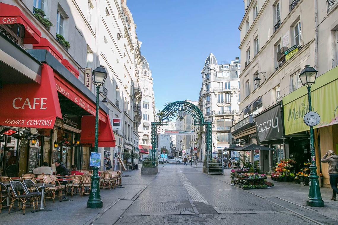 Apartment For Rent Rue Montorgueil Paris Ref 13714