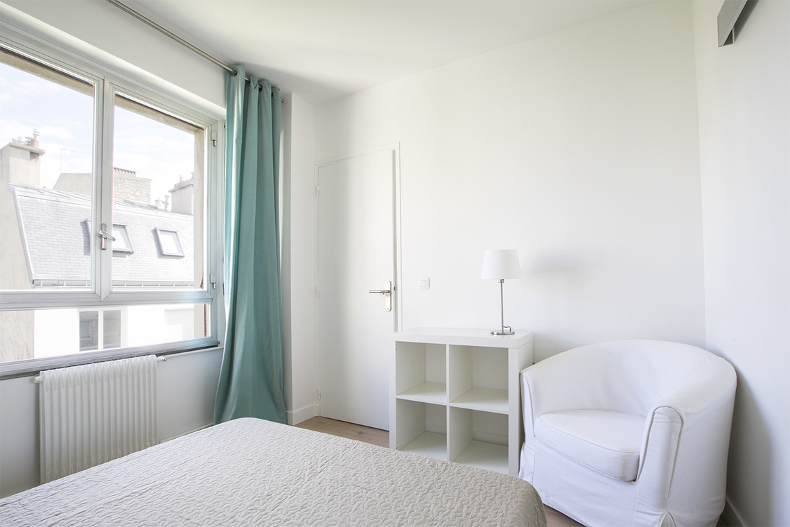 Appartement Paris Rue Gustave Nadaud 8