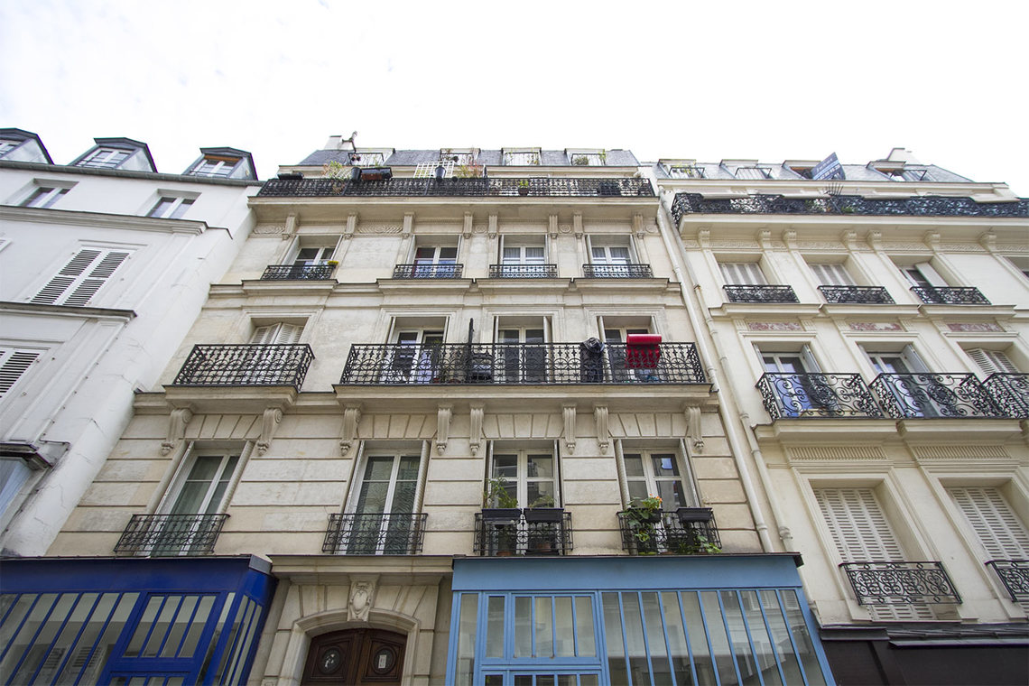 Appartamento Paris Rue Germain Pilon 16