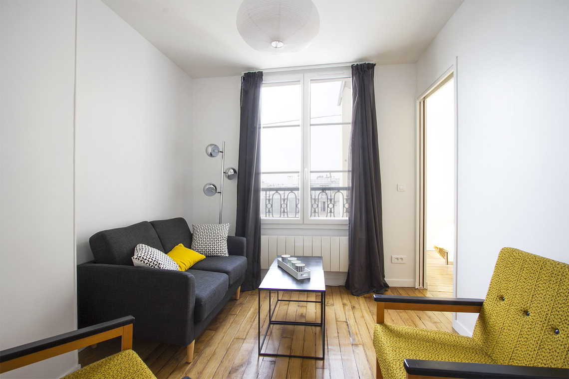 Paris Quai de Valmy Apartment for rent