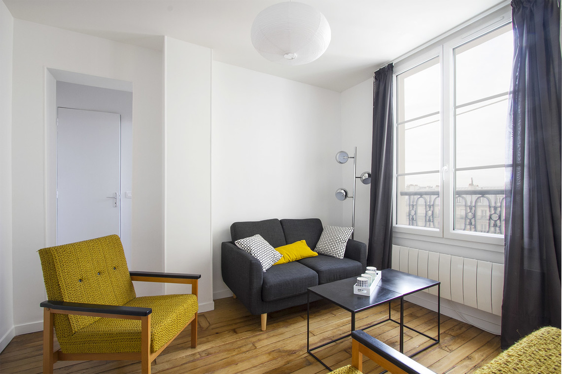 Furnished apartment for rent Paris Quai de Valmy