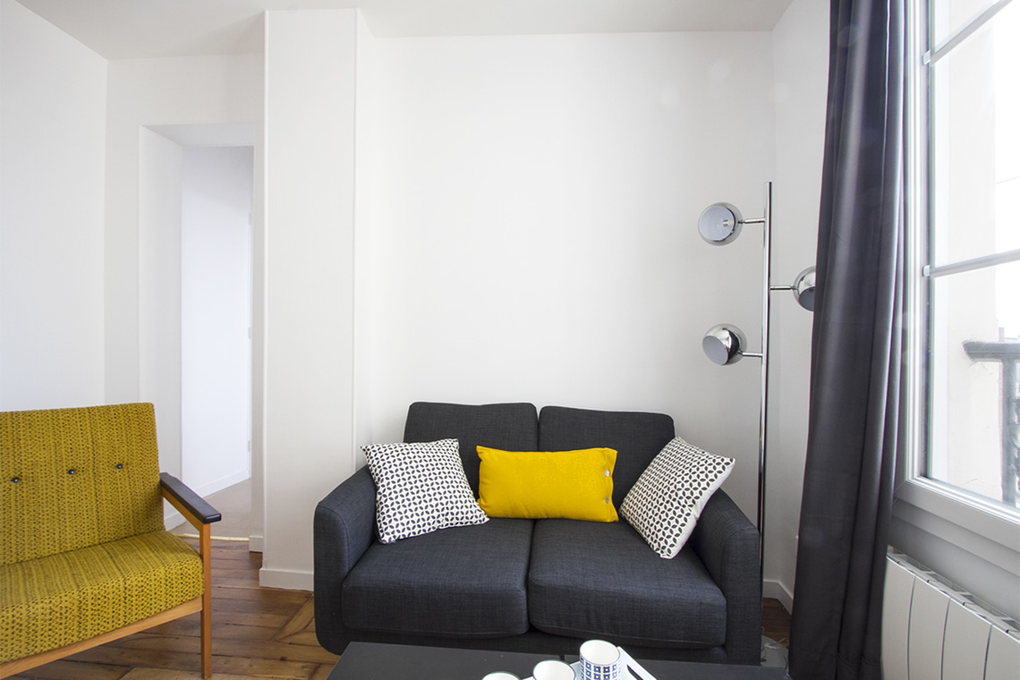 Apartment Paris Quai de Valmy 3