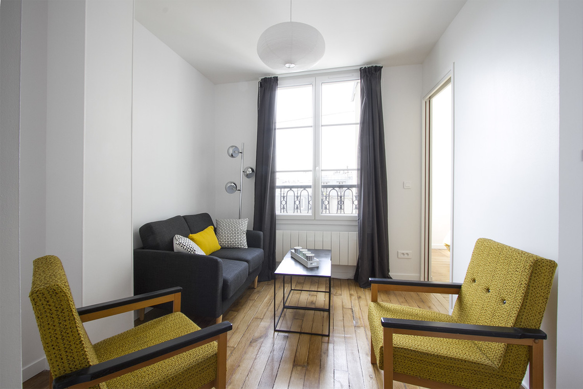 Apartment Paris Quai de Valmy 4