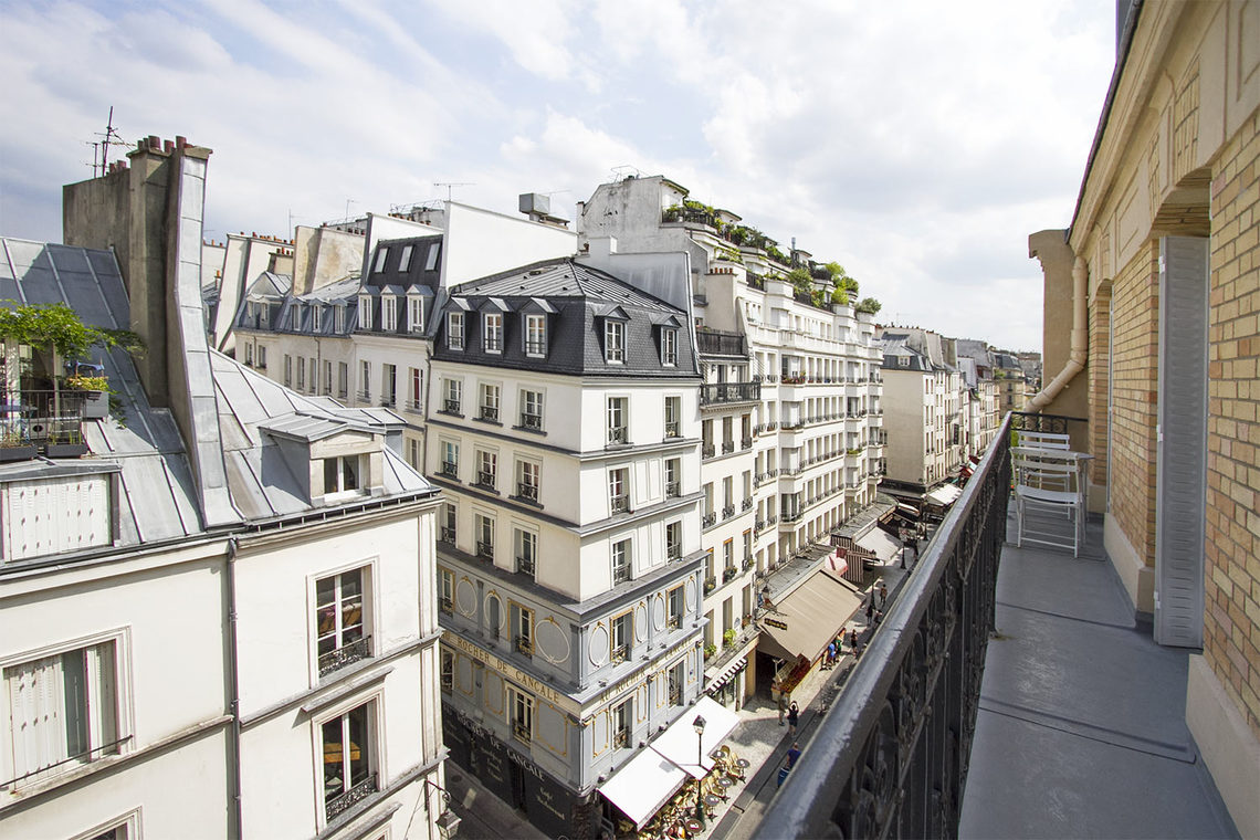 Apartment Paris Rue Bachaumont 19