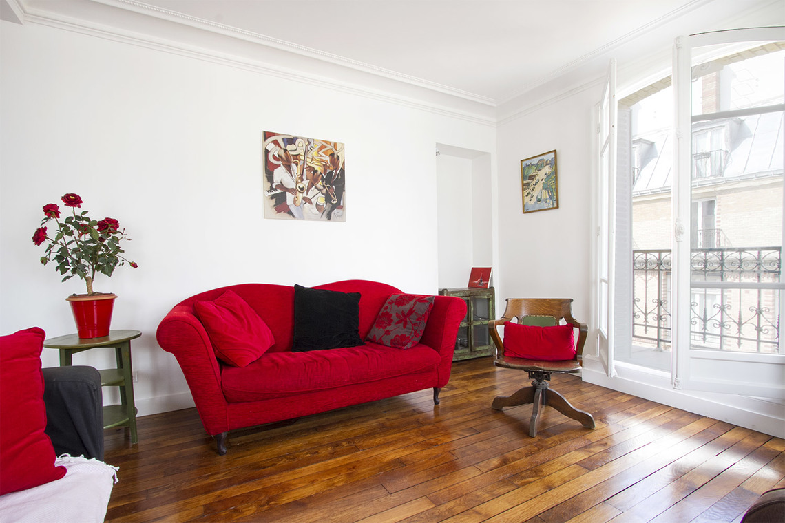 Furnished apartment for rent Paris Rue Bachaumont