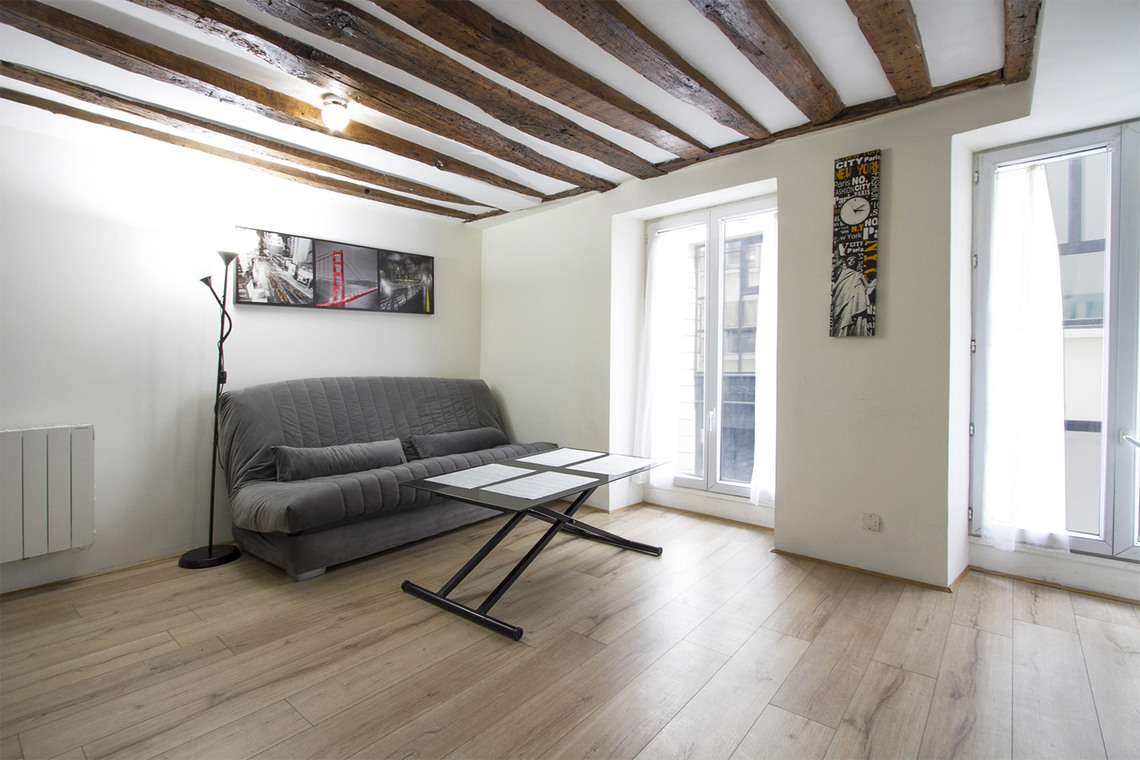 Paris Rue Poissonnière Apartment for rent