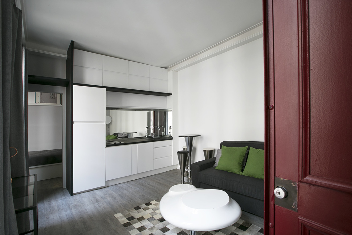 Appartement Paris Rue Jean-Jacques Rousseau 4