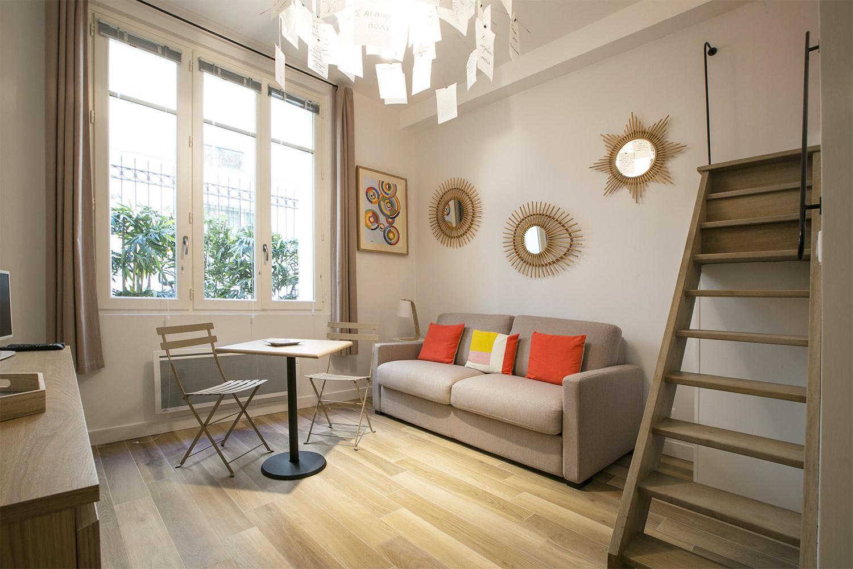 Appartement Paris rue Coetlogon