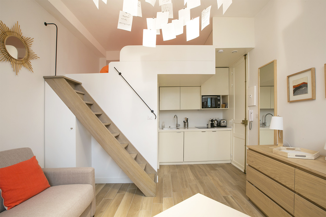 Apartment Paris Rue Coetlogon 5
