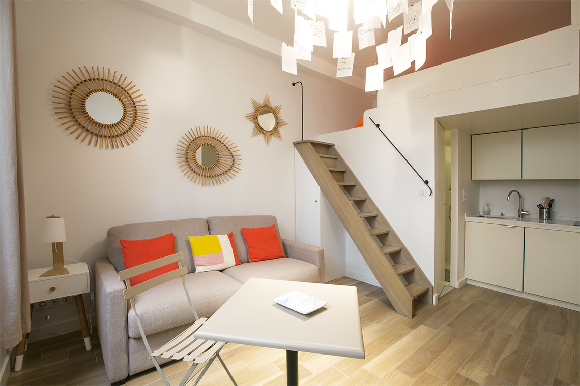 Apartment Paris Rue Coetlogon 2