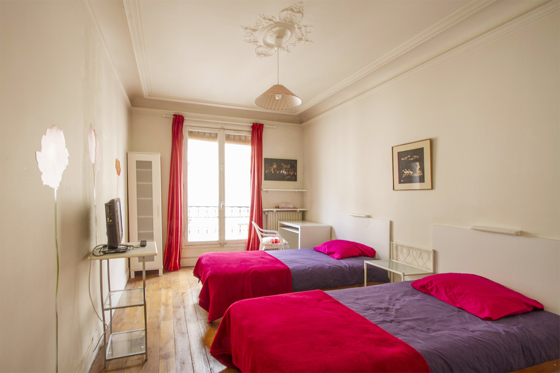 Appartement Paris Rue Damrémont 5