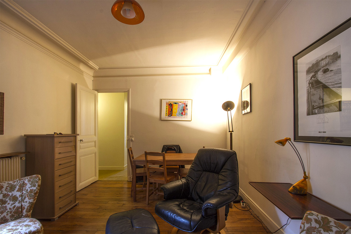 Appartement Paris Rue Damrémont 2