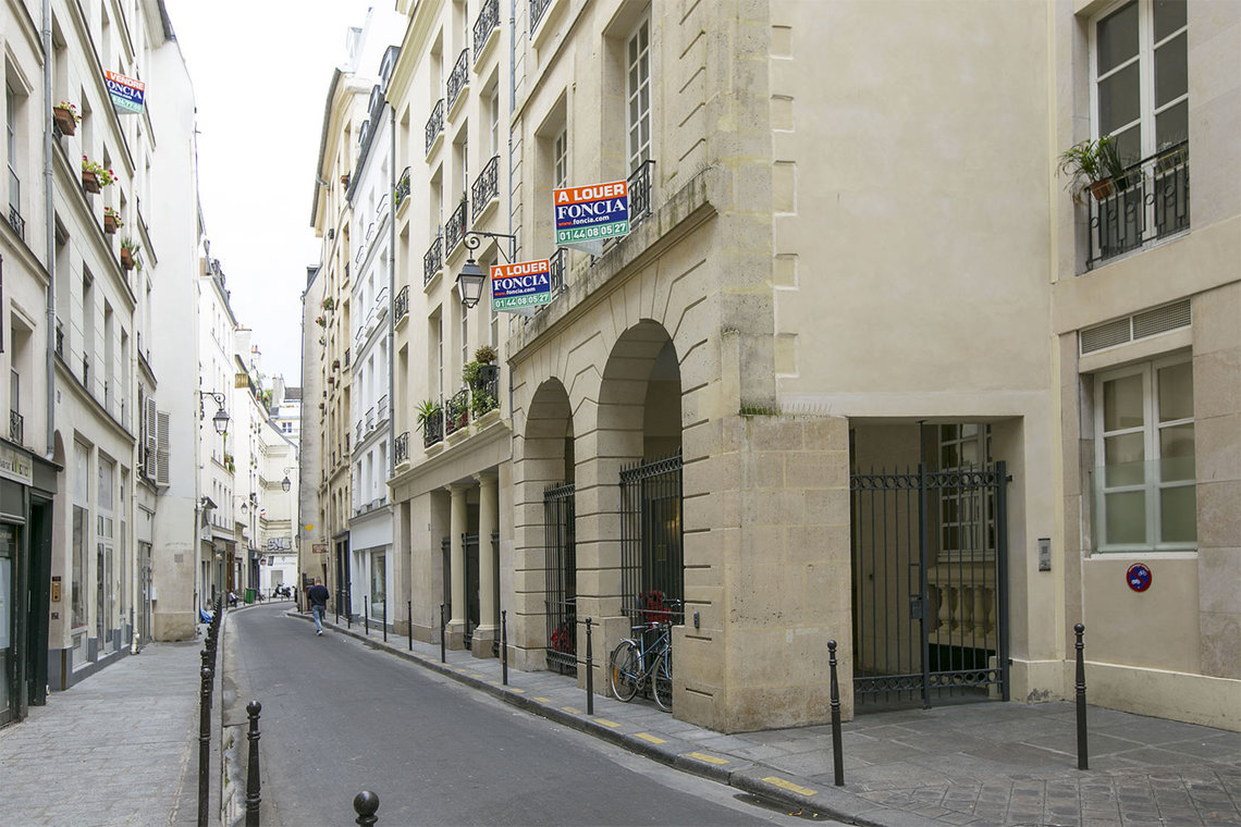 Appartamento Paris Rue Geoffroy l'Angevin 9