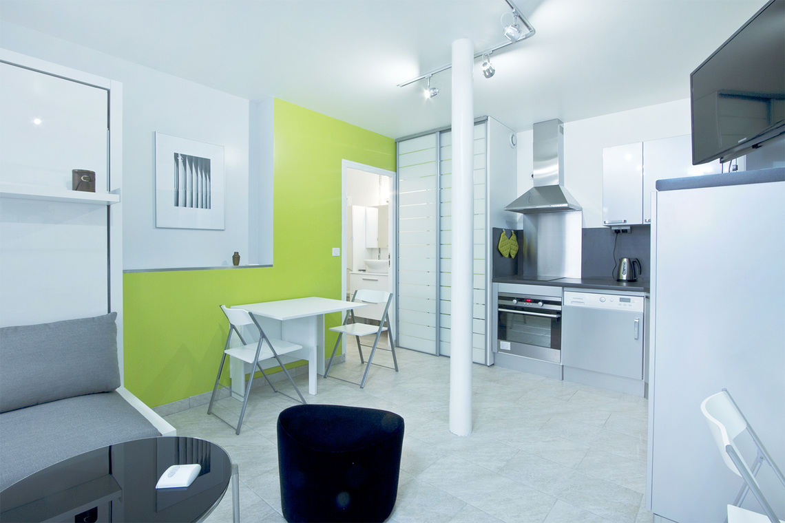 Apartment Paris Boulevard Voltaire 4