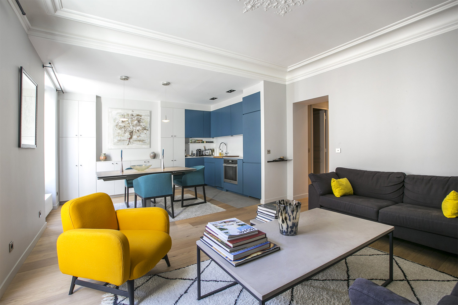 Apartment Paris rue Guersant