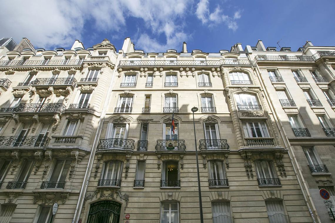 Apartment Paris Rue Theodule Ribot 22