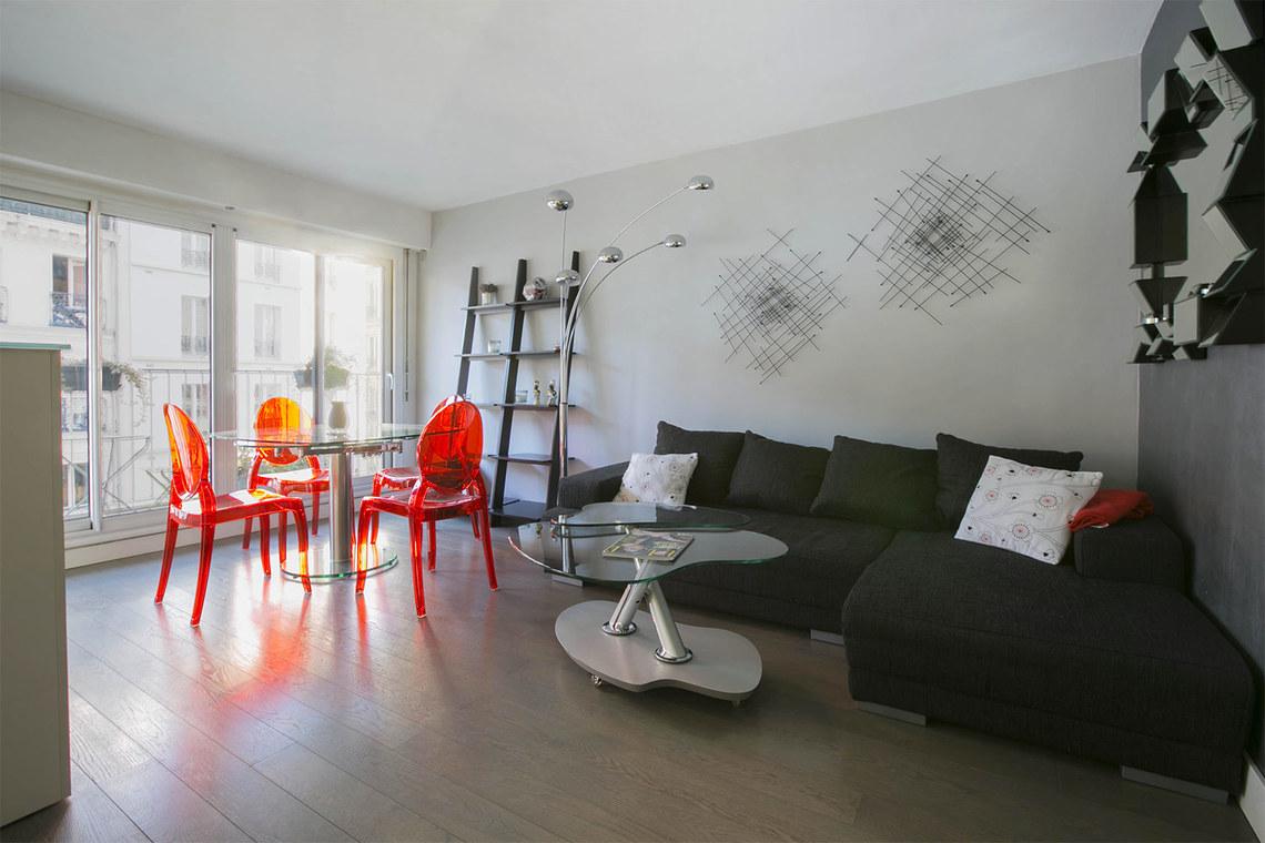 Location appartement meubl rue basfroi paris ref 14040 for Location appartement non meuble paris