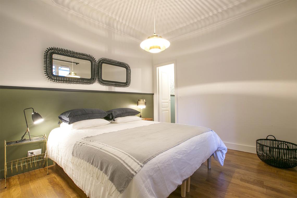 Location appartement meubl rue du faubourg du temple for Chambre flat design
