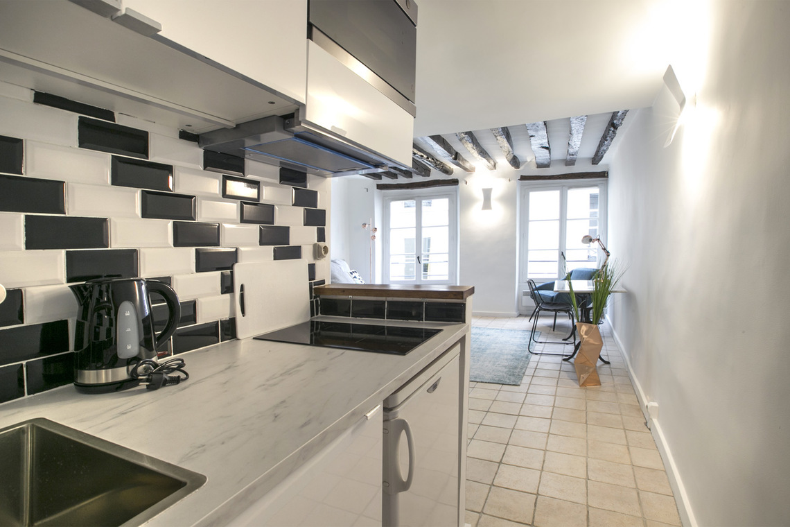 Apartment Paris Rue Geoffroy l'Angevin 7