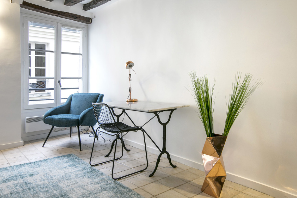 Apartment Paris Rue Geoffroy l'Angevin 2