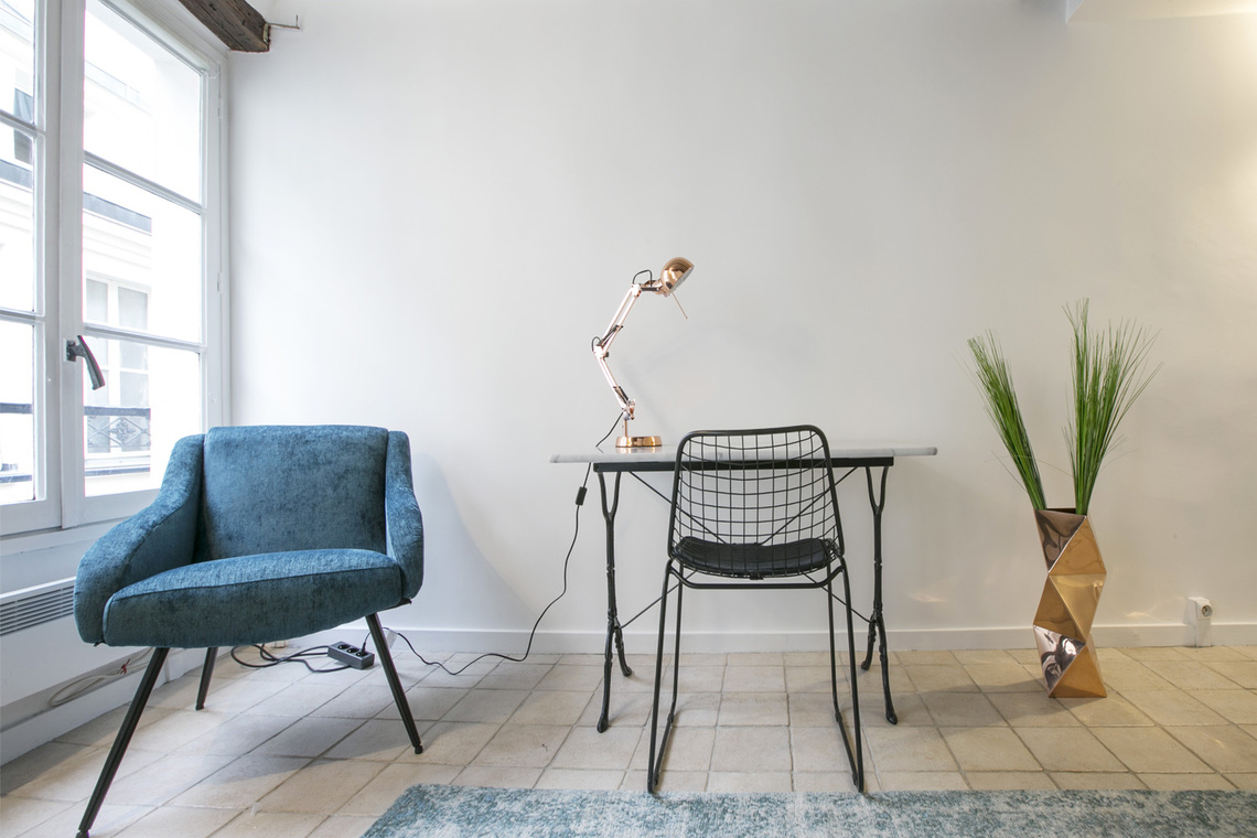 Apartment Paris Rue Geoffroy l'Angevin 4