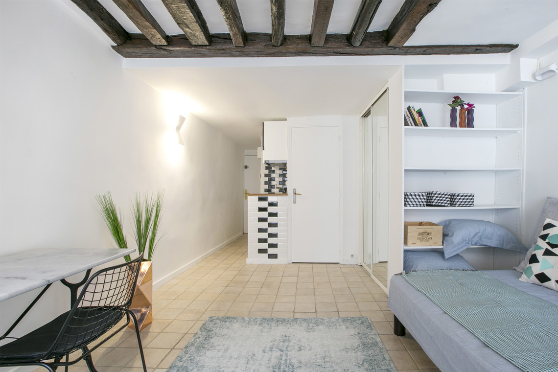 Apartment Paris Rue Geoffroy l'Angevin 5
