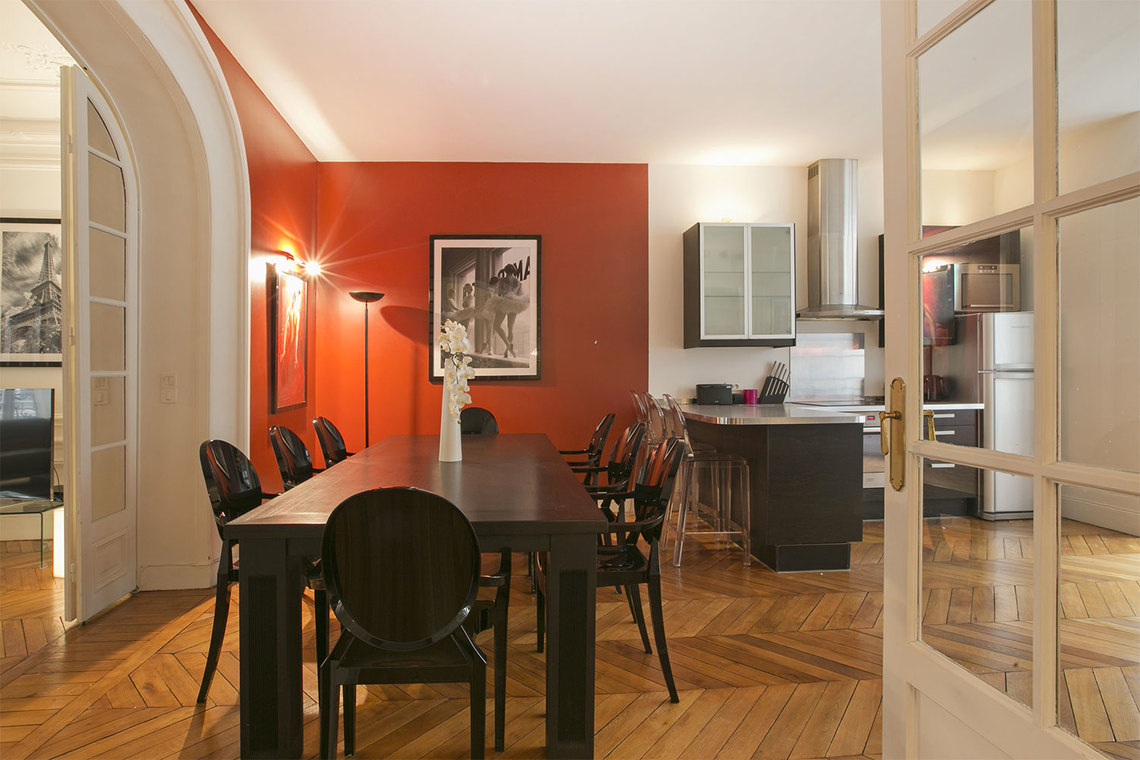 Apartment Paris Rue Paul Baudry 9