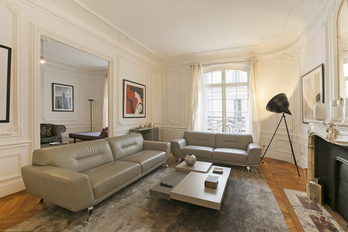 Furnished apartment for rent Paris Rue Paul Baudry