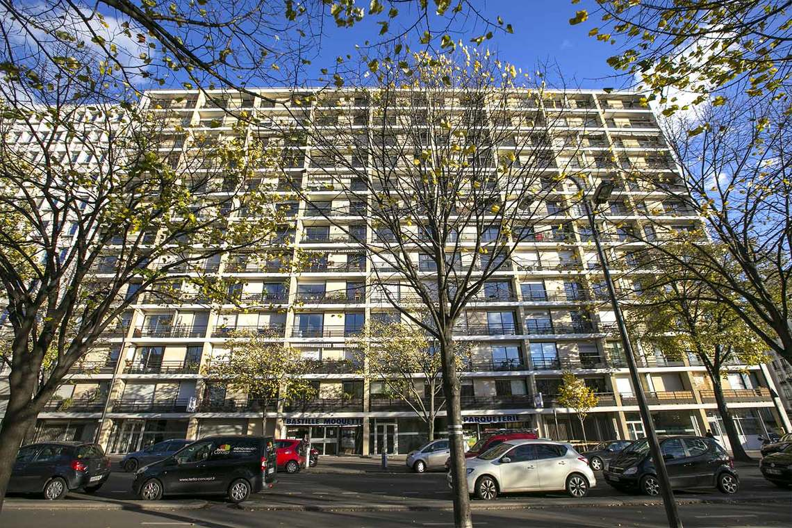 Appartement Paris Boulevard de la Bastille 17