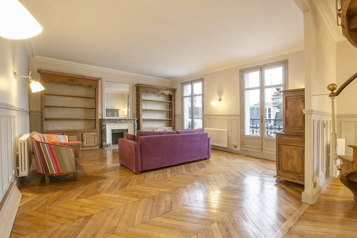 Furnished apartment for rent Paris Rue Joseph Bara