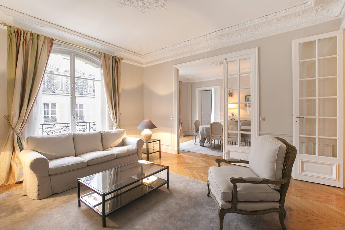 Furnished apartment for rent Paris Square de la Tour Maubourg