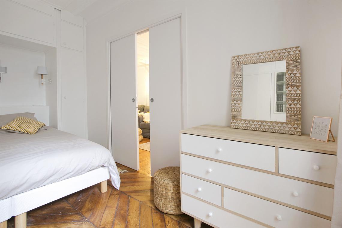 Location appartement meubl rue torricelli paris ref 14243 for Appartement meuble paris 17eme