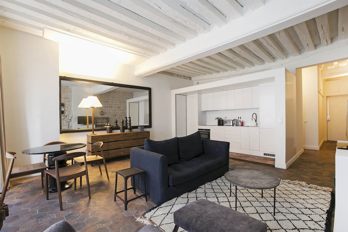 Furnished apartment for rent Paris Rue Guénégaud
