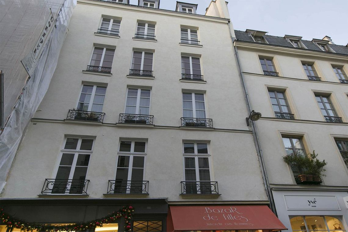 Квартира Paris Rue Vieille du Temple 26