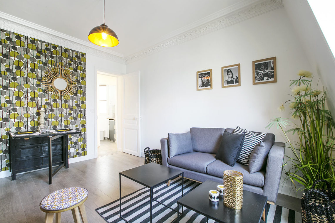 Apartment Paris Rue Humblot 2