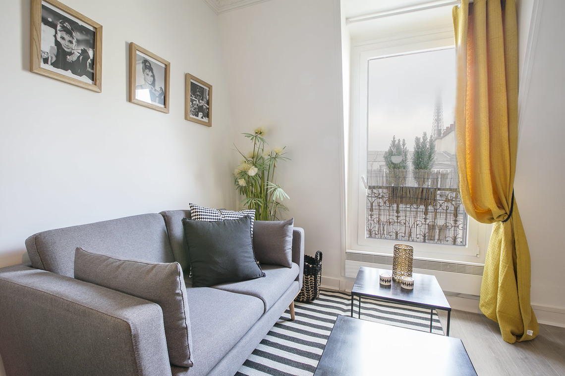 Apartment Paris Rue Humblot 4