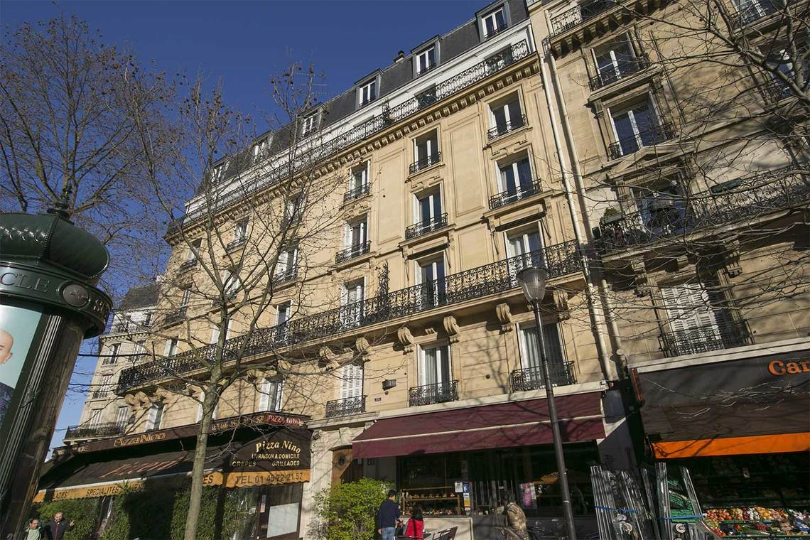 Apartment Paris Boulevard Gouvion Saint Cyr 15