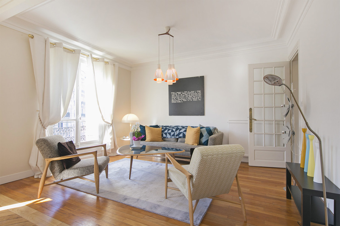 Furnished apartment for rent Paris Boulevard Gouvion Saint Cyr