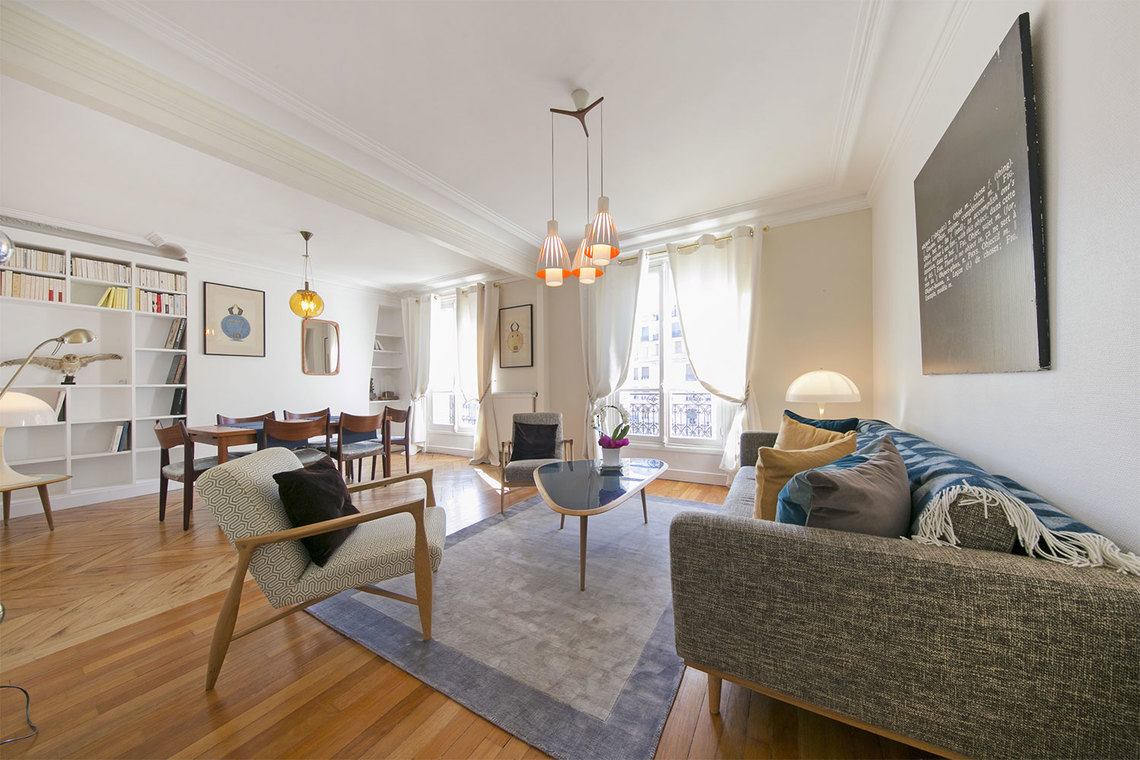 Paris Boulevard Gouvion Saint Cyr Apartment for rent